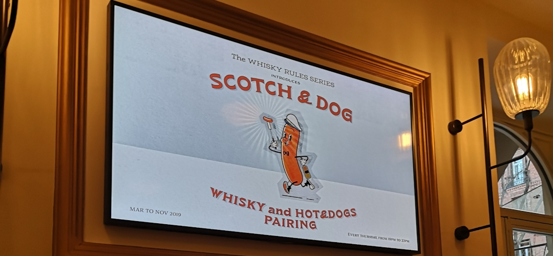 Atrévete y rompe las normas con 'The Whisky Rules Series: Scotch & Dog'